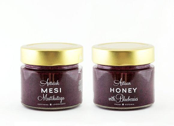 Artisan Honey - Honey with Blueberries (200g)