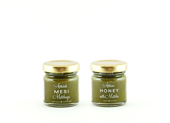 Artisan Honey - Honey with Matcha (50g)