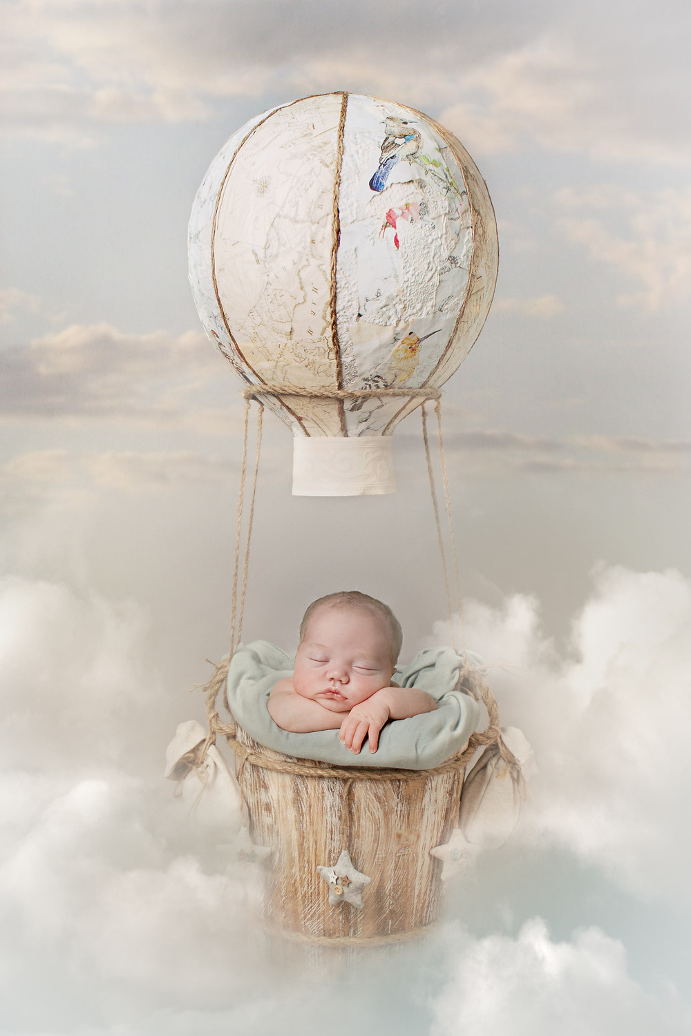 Archie | Newborn Photography | Lemon Sky