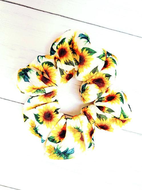 Sunflowers Scrunchie