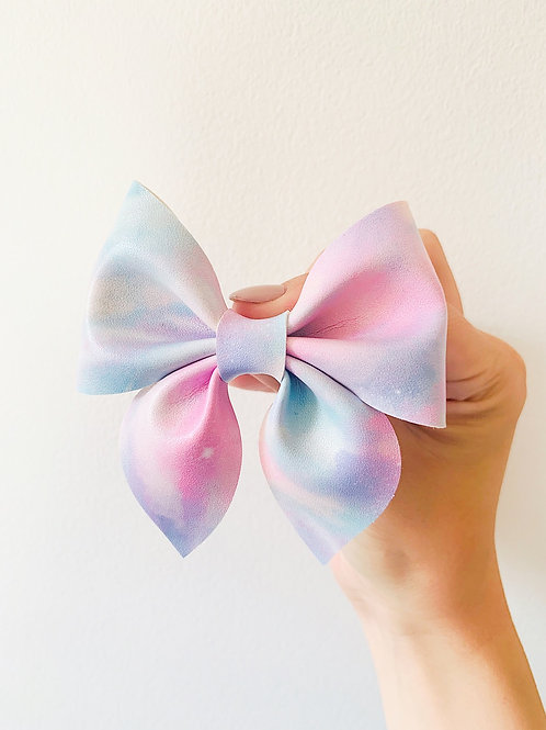 """Pastel Delight Pinch Bow 3.5"""""""