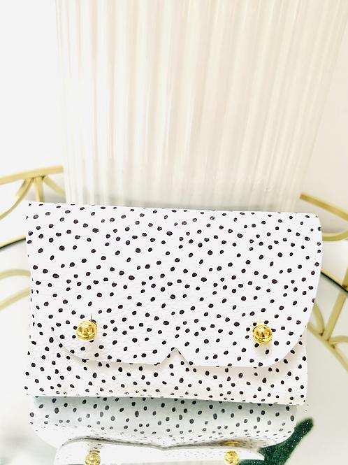 Polka dot Mini Pouch with Card Pocket