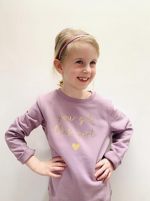 You got this, girl - Kids Sweatshirt