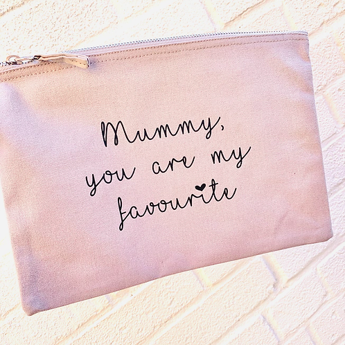 Large Accessory Case - You are my favourite