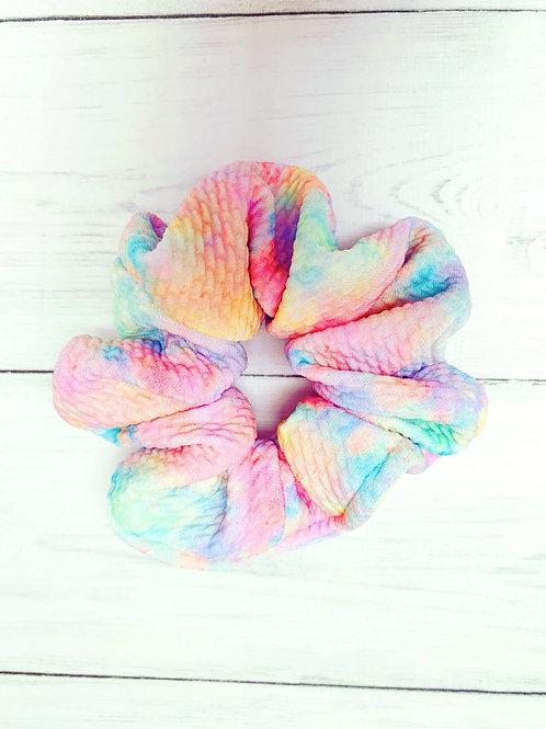 Rainbow burst Scrunchie