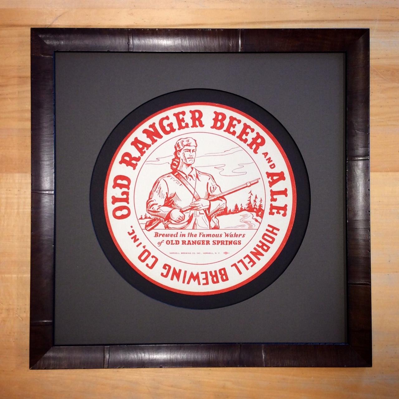Vintage Beer Tray Liner