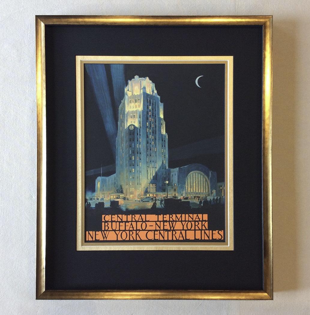 Buffalo Central Terminal Poster