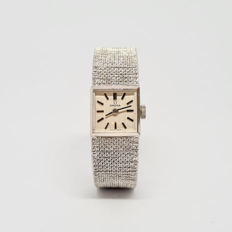 Omega Solid 9ct White Gold