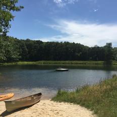 mlbs pond with canoe.JPG