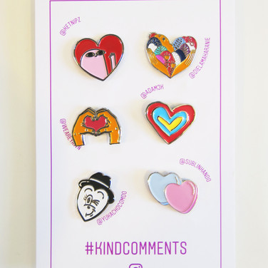Limited Promotional Pins