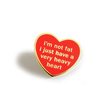 Heavy Heart Pin