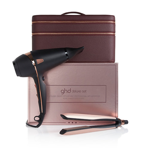 coffret deluxe ghd royal dynasty rose gold