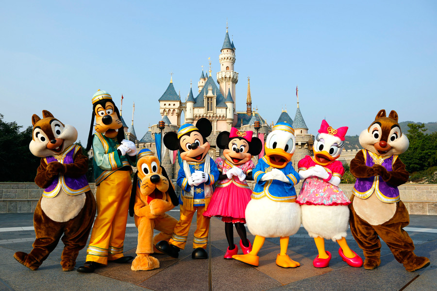 Hongkong Disneyland Day Tour