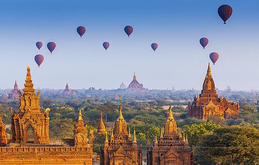 Myanmar famous tourist landscape