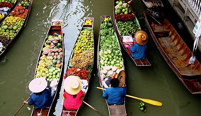Thailand with Dammeru Saduak Floating Market Tour Package 2017