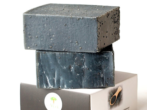 Manly Charcoal Detox Herbal Soap