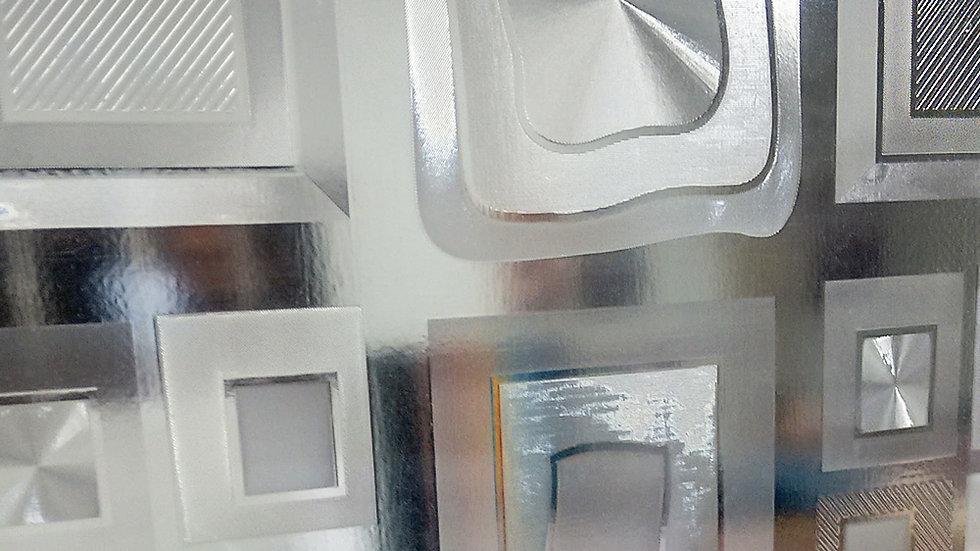 Adesivo jateado Cristal Vision