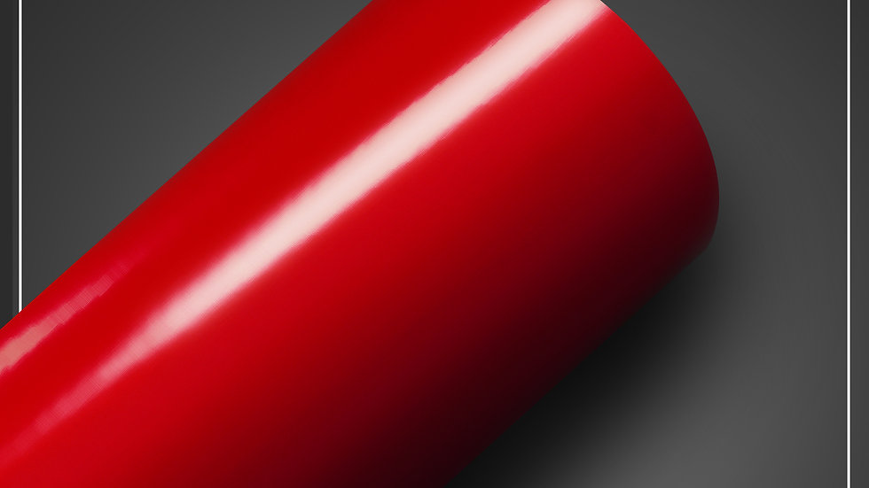 Adesivo brilhoso Vermelho Fogo
