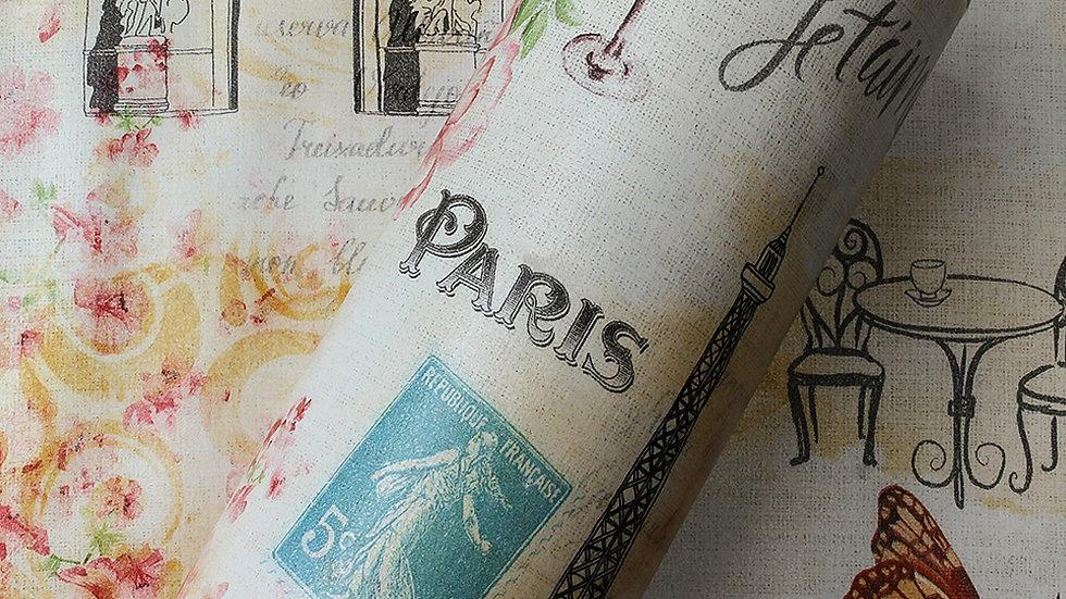 Adesivo decorativo Paris