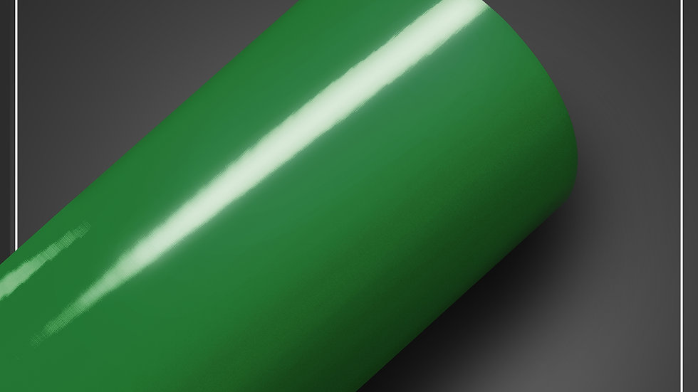 Adesivo brilhoso Verde Bandeira