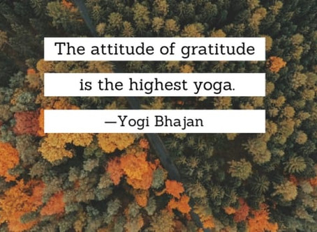 Gratitude: The Medicine for the Body, the Mind and the SOUL