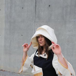 Double-Hood Dress