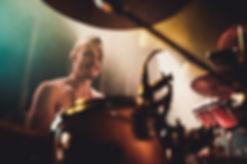 Charlie Stirzaker, Slamboree's mega-drummer