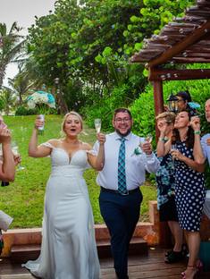 Mariya's wedding in Morilee Gown
