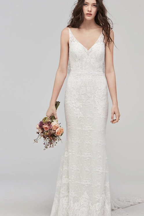 PAPELLA BY WILLOWBY WEDDING DRESS/ SIZE 6