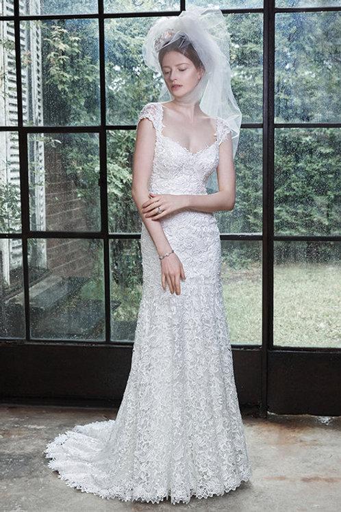 LUELLA BY MAGGIE SOTTERO WEDDING DRESS/ SIZE 12
