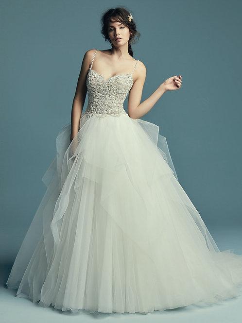 SHAUNA BY MAGGIE SOTTERO WEDDING DRESS/ SIZE 8