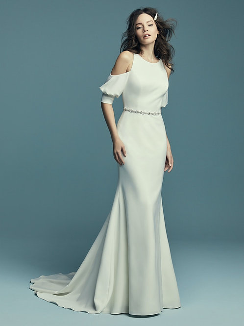 CLAUDIA BY MAGGIE SOTTERO WEDDING DRESS/ SIZE 8