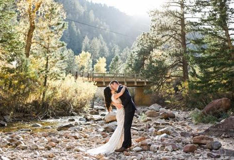 Jenny's wedding in Allure Bridal Gown