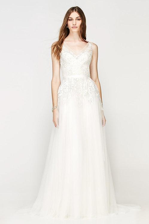 BALI BY WILLOWBY WEDDING DRESS/ SIZE 12