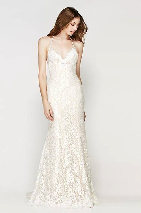 SANYA  BY WILLOWBY WEDDING DRESS/ SIZE 6