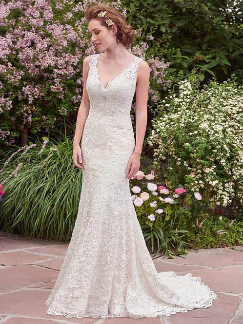 HOPE BY REBECCA INGRAM WEDDING DRESS/ SIZE 10