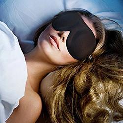 eye mask worn