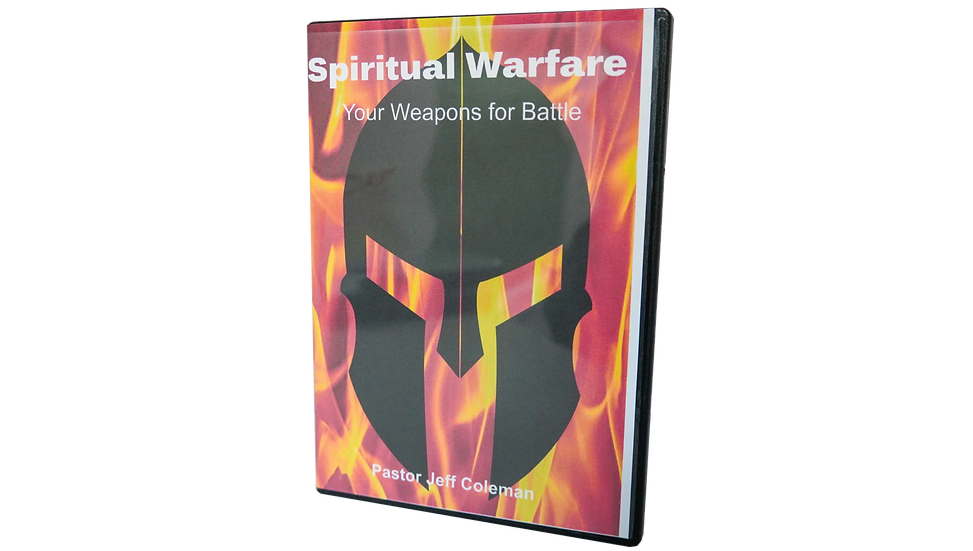 003 SPIRITUAL WARFARE (YOUR WEAPONS FOR BATTLE)