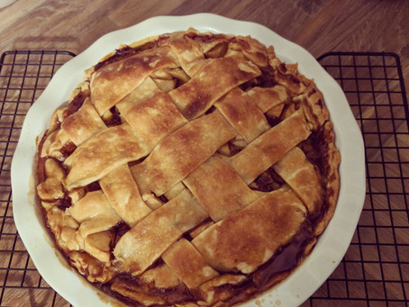 #LittleLion loves pie