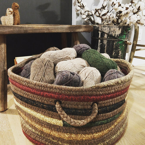 Alpaca Everything Basket