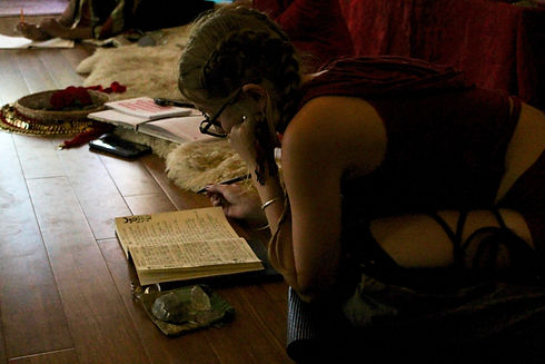 witch, study, priestess, training, book of shadows, priestess initiation, crystals, magic, moon cycle
