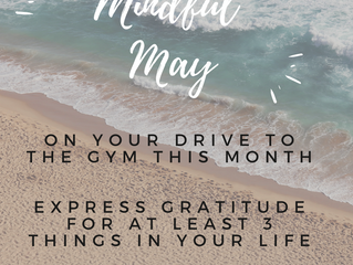 Mindful May. Why your brain needs workouts too!!
