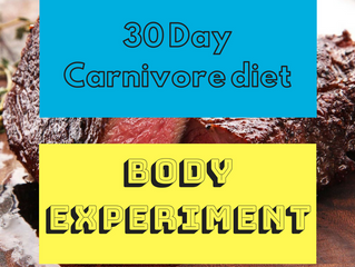 30 day Carnivore Diet Experiment