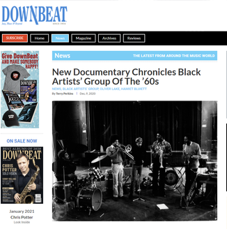 DownBeat Magazine Interview
