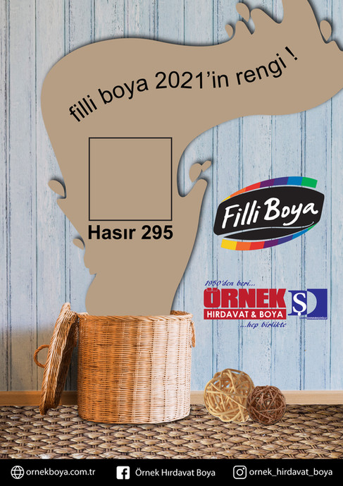 Filli Boya - 2021'in Rengi