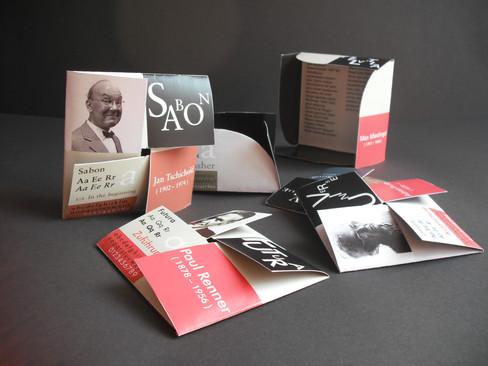 Tipograflar Tanıtım Kartları Serisi