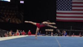Floor Exercise – 2018 U.S. Gymnastics Championships – Junior Men Day 1