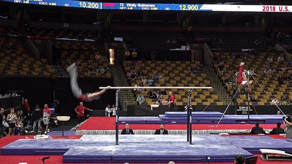 Parallel Bars – 2018 U.S. Gymnastics Championships – Junior Men Day 2