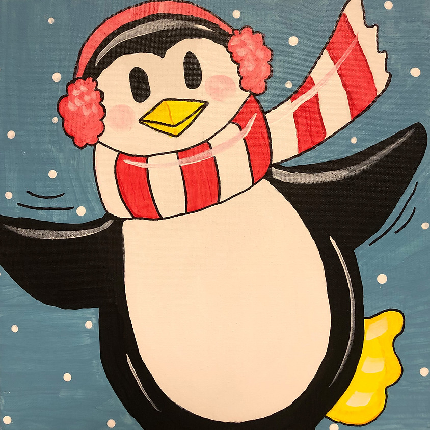 Kids Workshop: Paint a Penguin