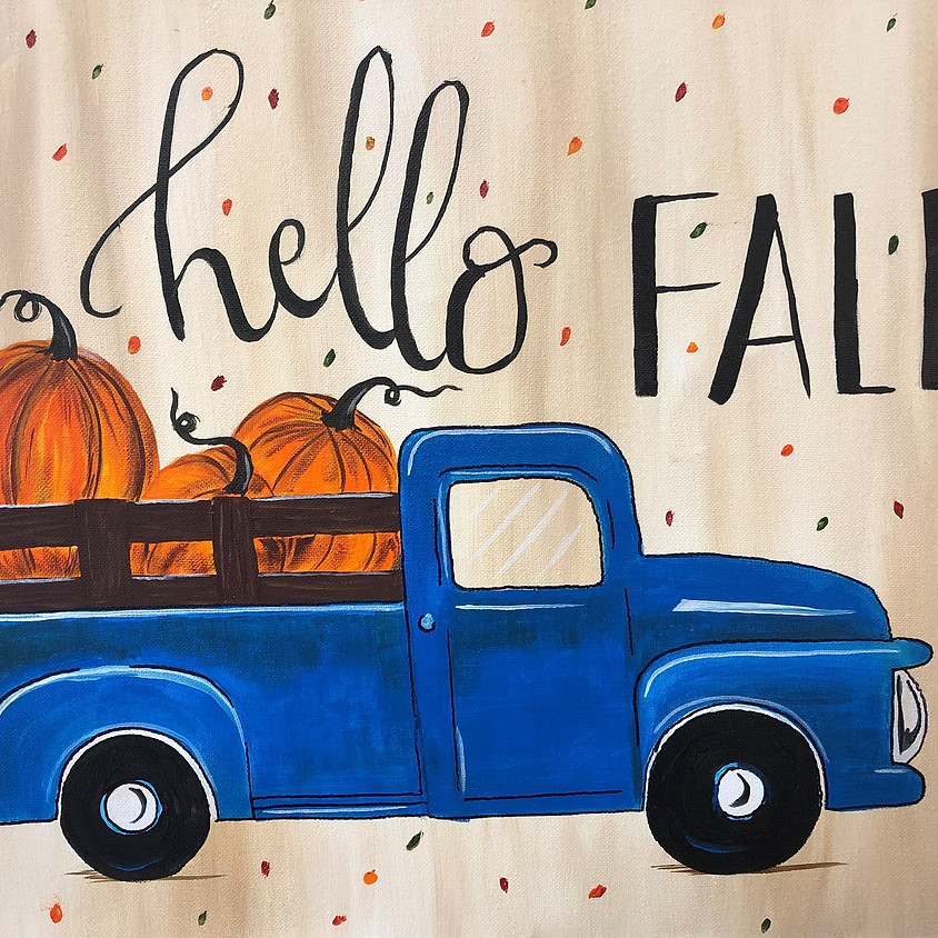 Canvas Paint: It's Fall, Y'all!